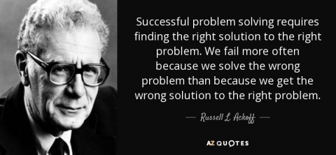 Solving the wrong problem is the biggest problem for your product